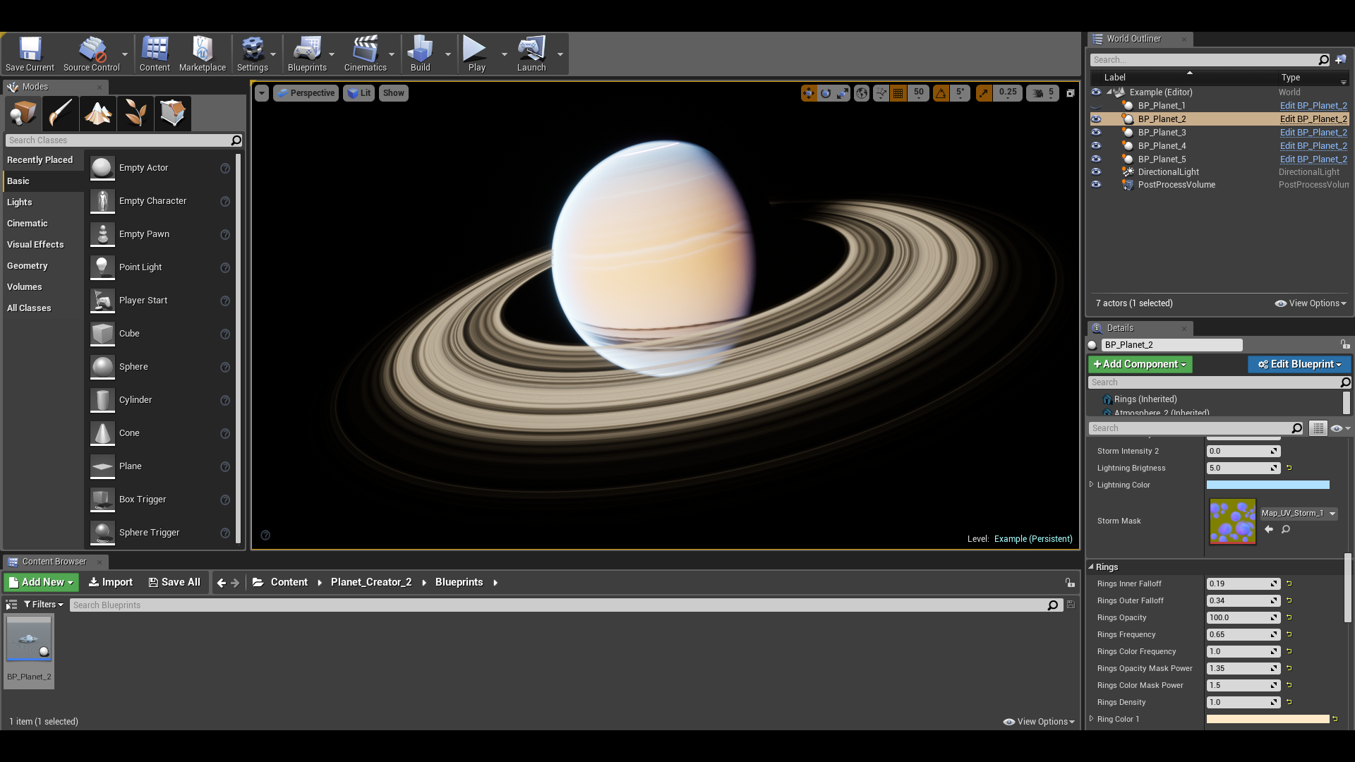 Planet Creator 2 by Makemake in Blueprints - UE4 Marketplace