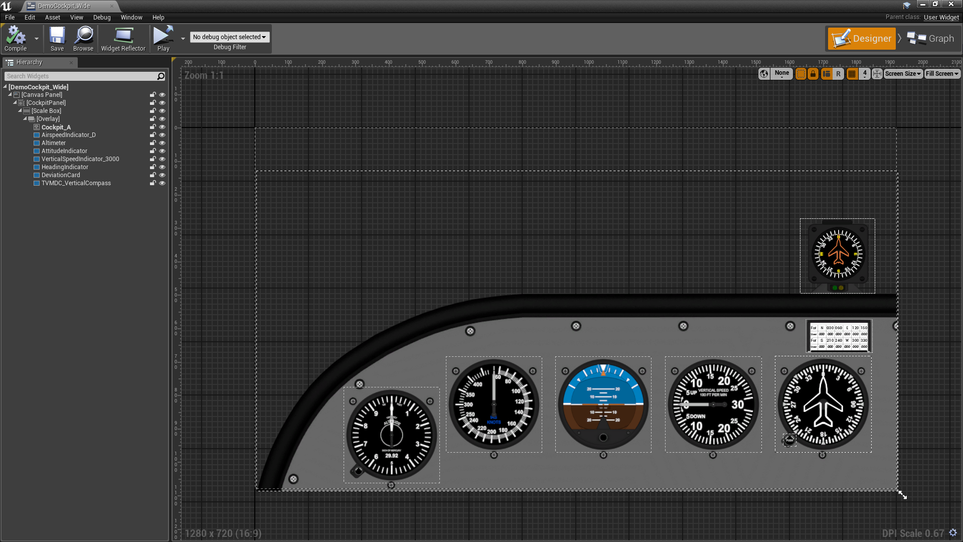 Flight Instrument Pack by McGillivray Games in 2D Assets