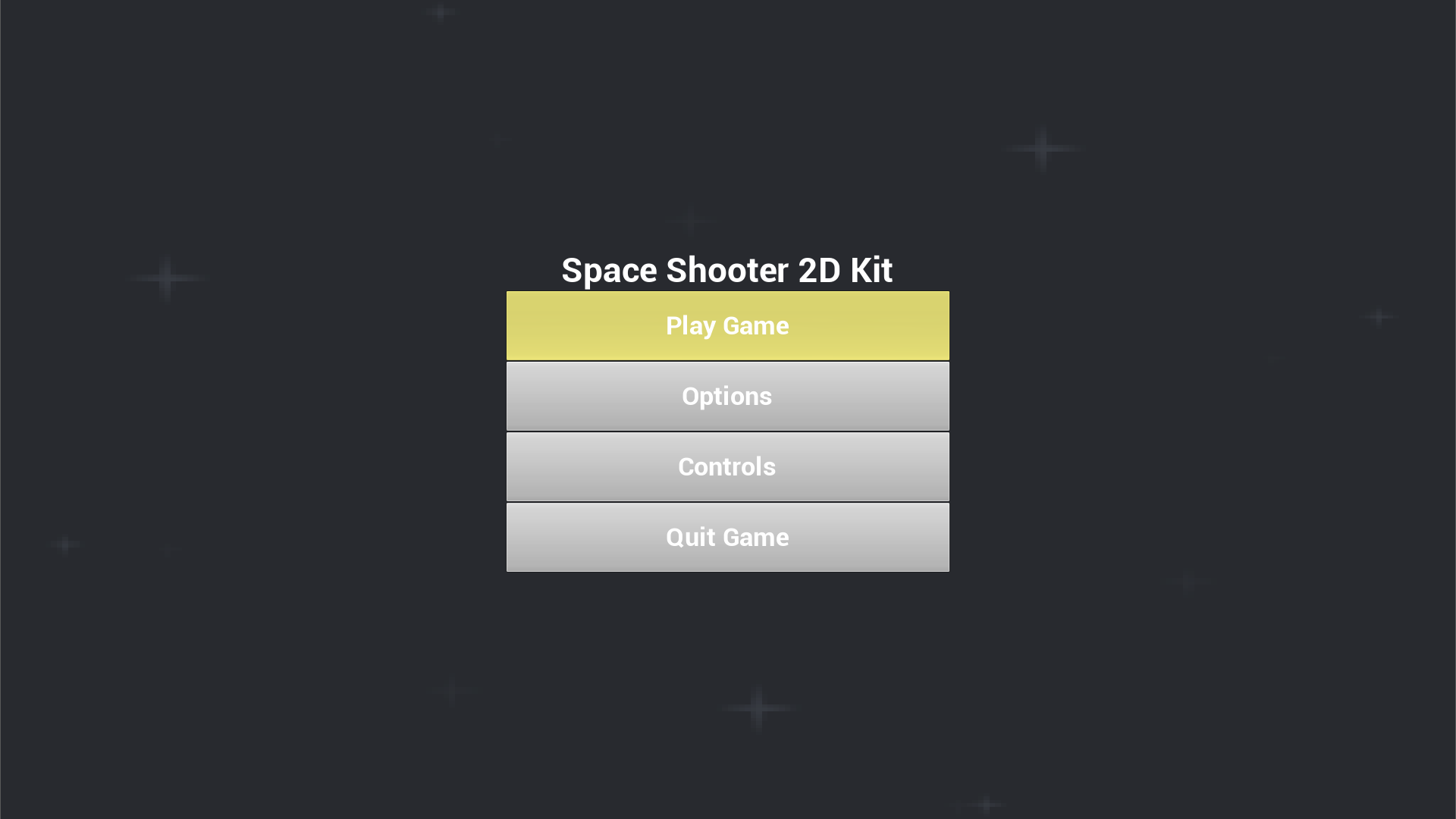 Space Shooter 2D Kit by Graces Games in 2D Assets - UE4 ...