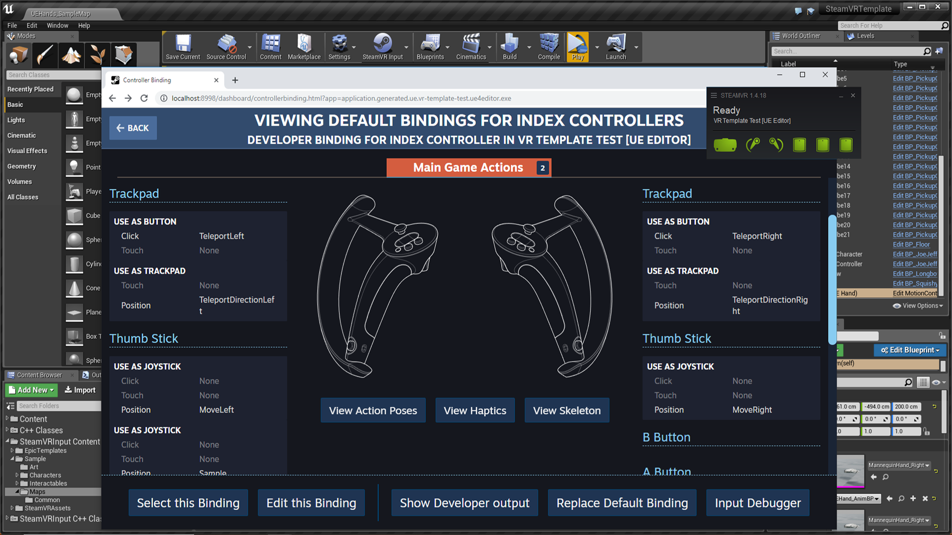 SteamVR Input for Unreal by Valve Corporation in Code Plugins - UE4