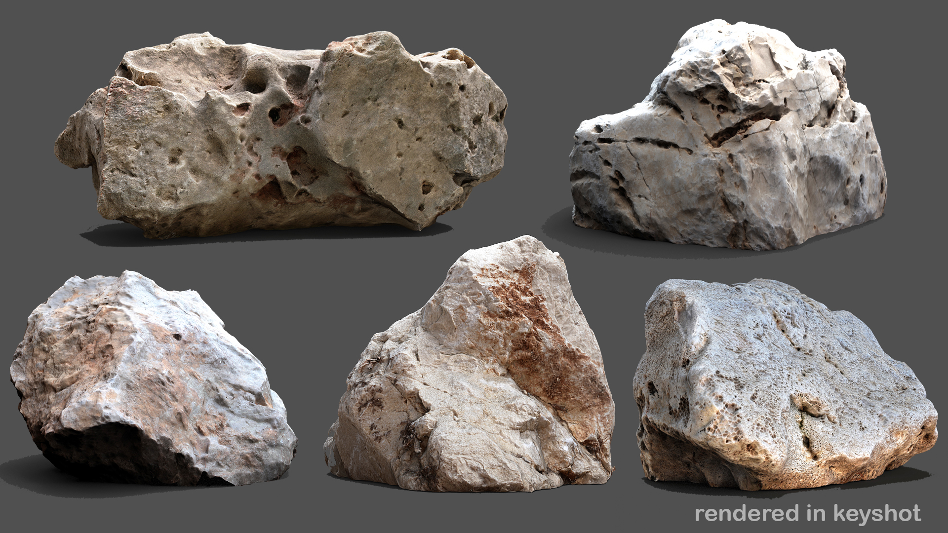 Stones and Rocks pack by ArtCloud in Environments - UE4