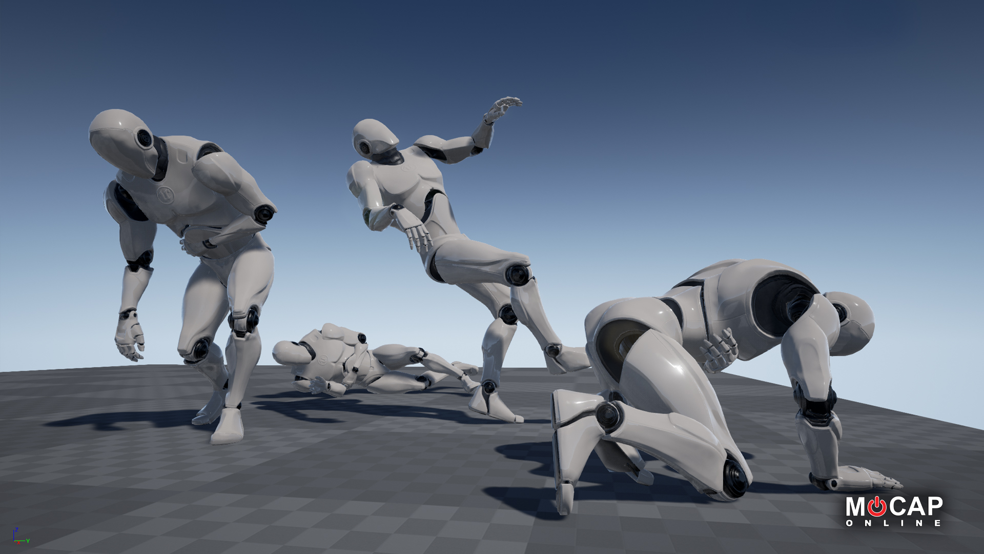 Death Animations - MoCap Pack by MoCap Online in Animations