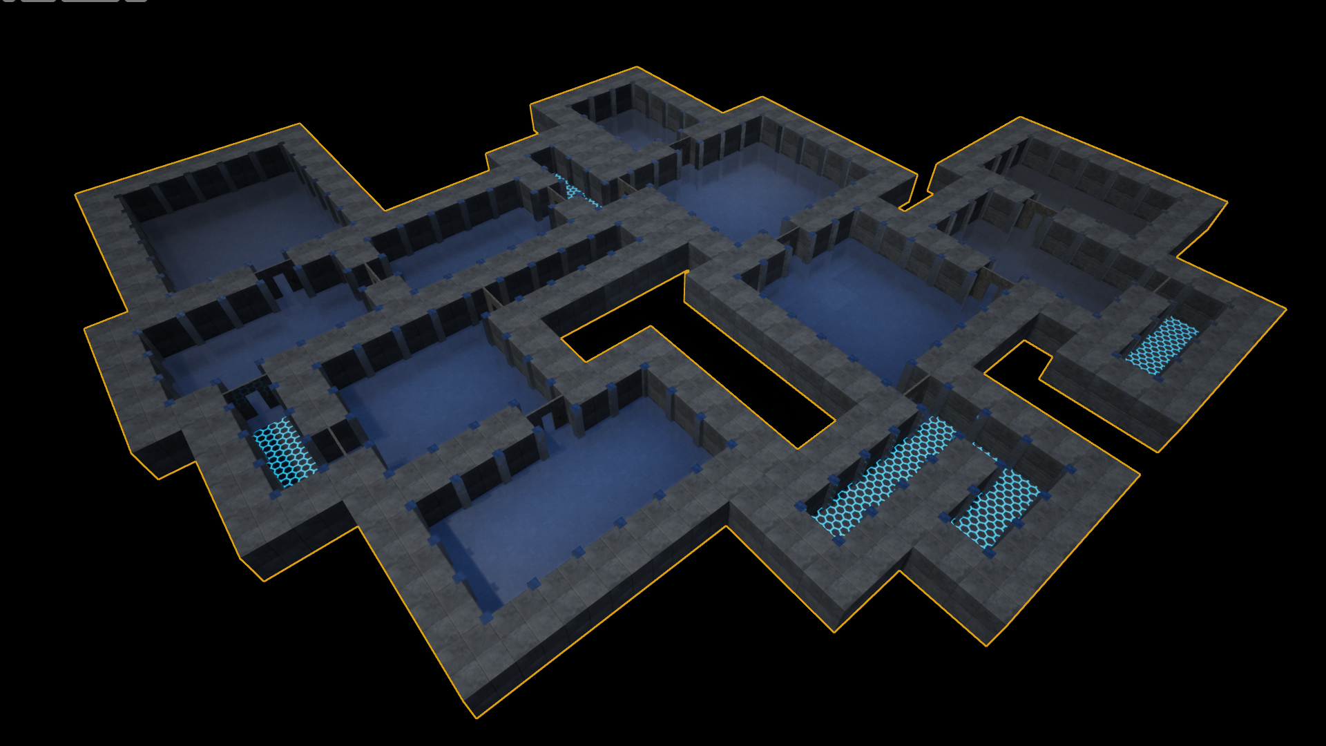 Procedural Dungeon Map Builder by Ripen in Blueprints - UE4