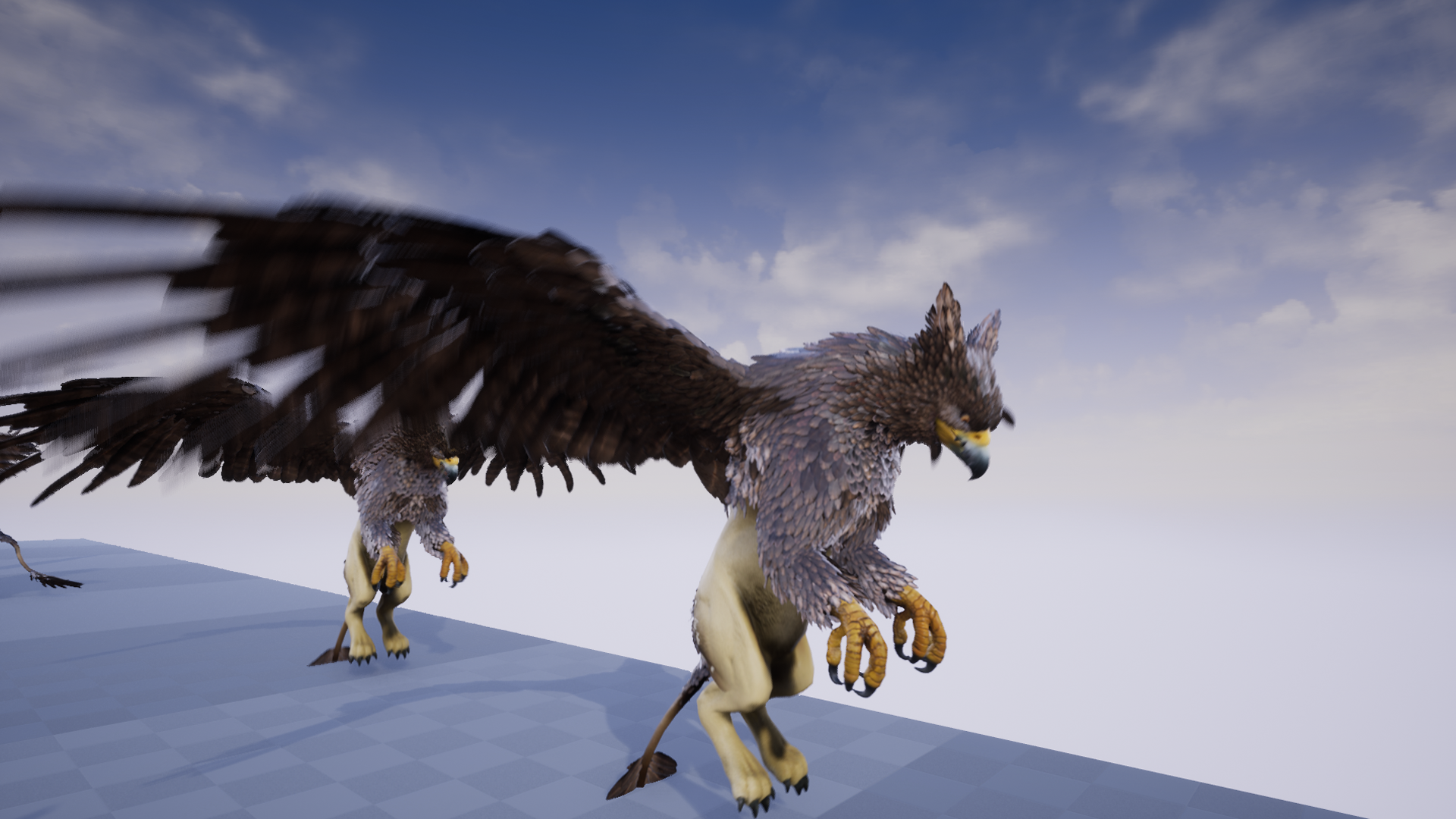 Quadruped Fantasy Creatures by PROTOFACTOR INC in Characters
