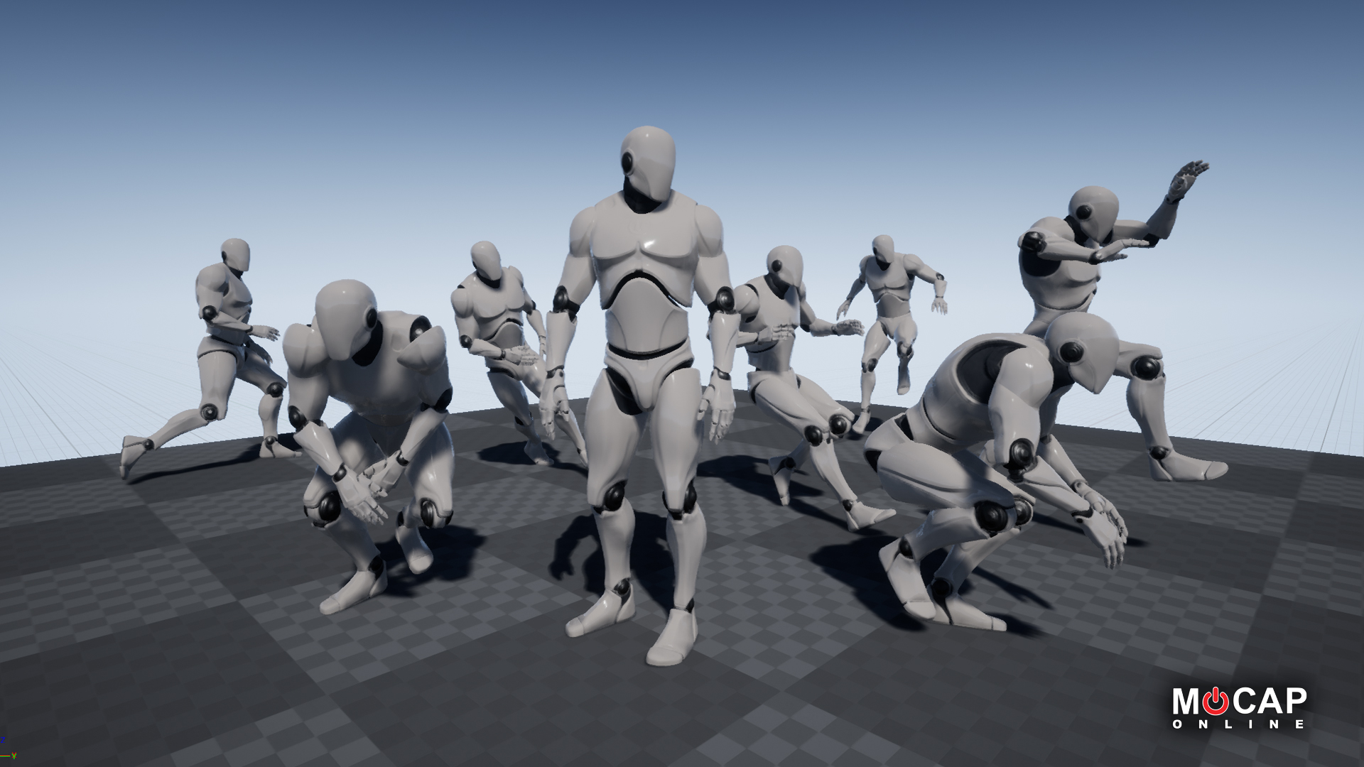 Mobility 01 Basic - MoCap Pack by MoCap Online in Animations