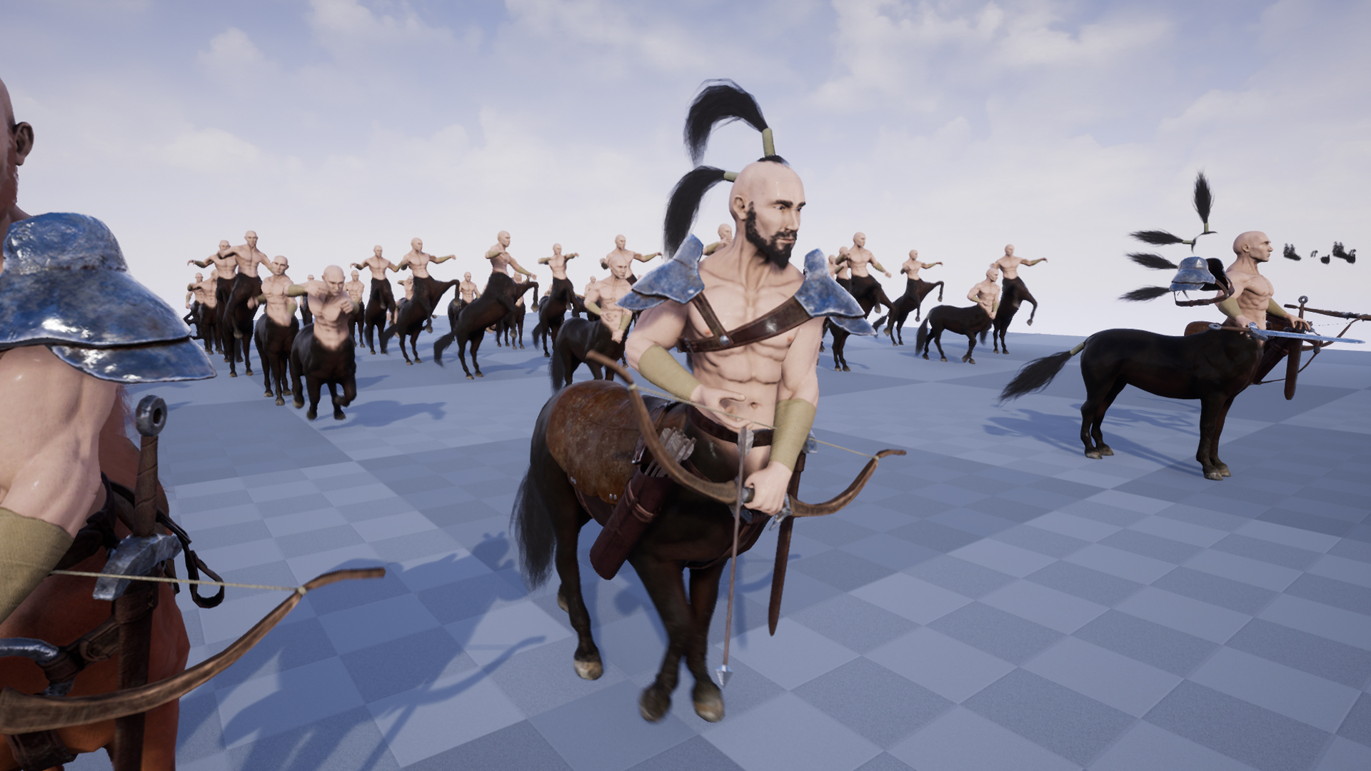 CENTAUR by PROTOFACTOR INC in Characters - UE4 Marketplace