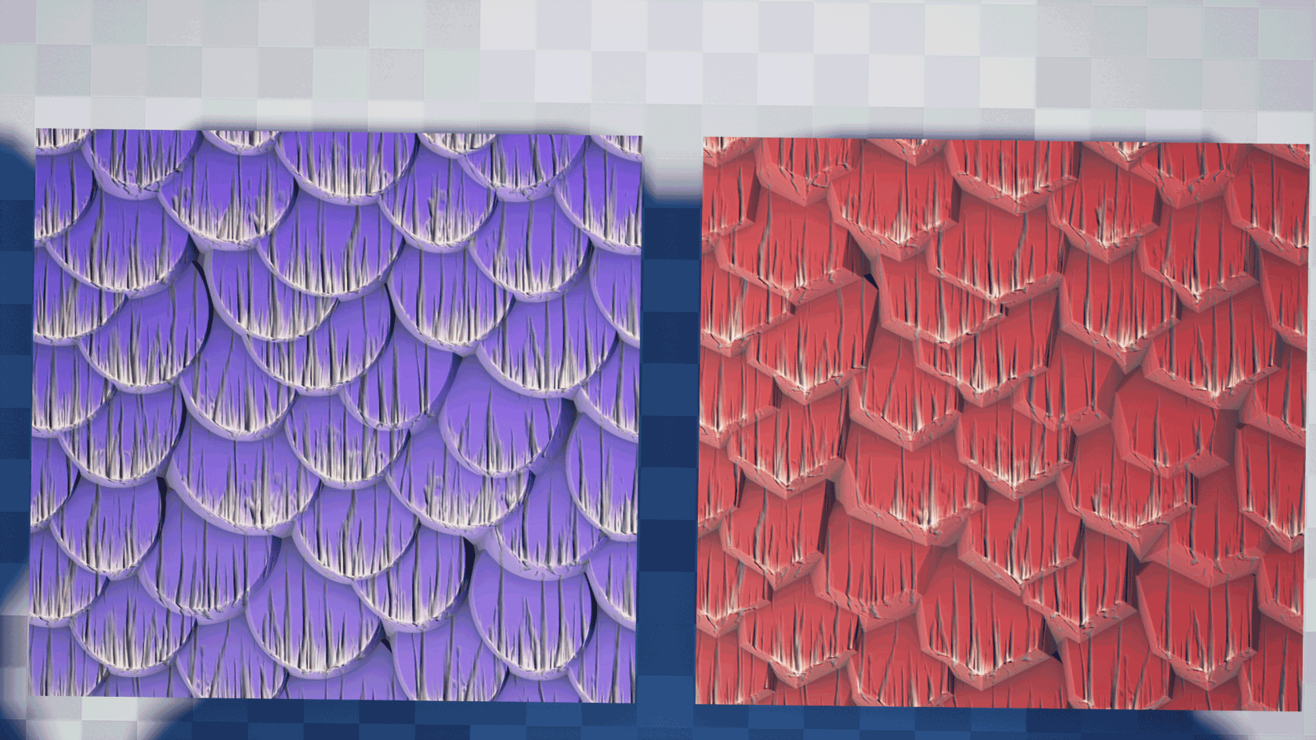 Stylized Wood Shingles Substance Pack by Peter Severud in Materials