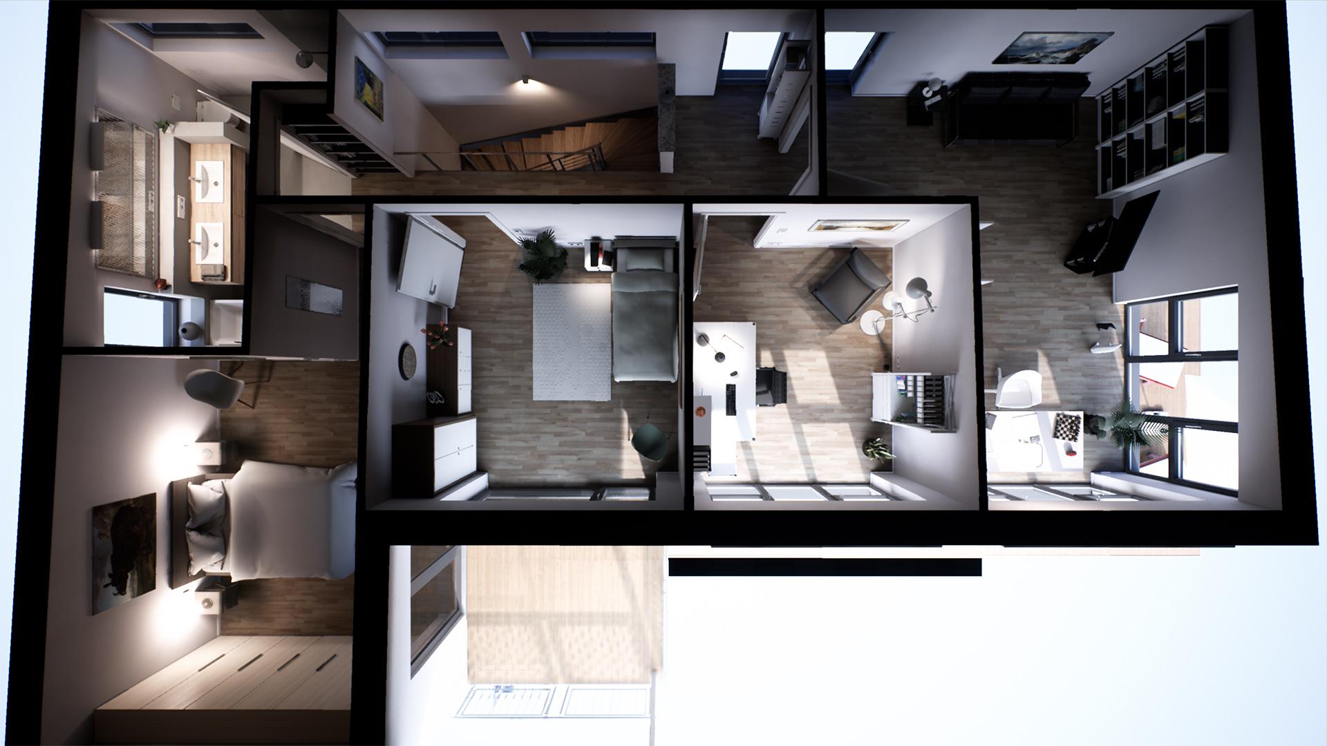 Threedee Suburban House By Threedee Gmbh In Architectural Visualization Ue4 Marketplace