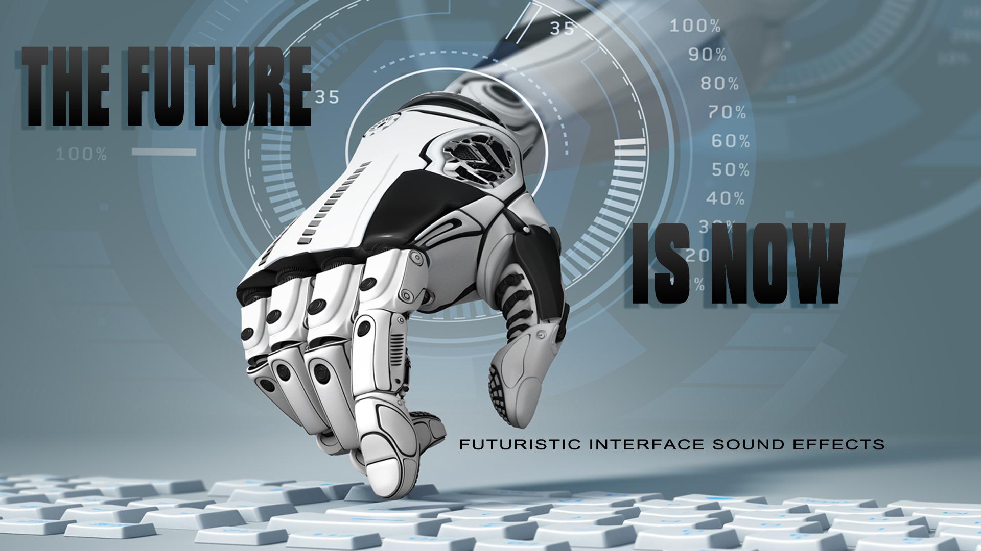 Interface Sounds, Sci-Fi Futuristic Computer Beeps & Buttons