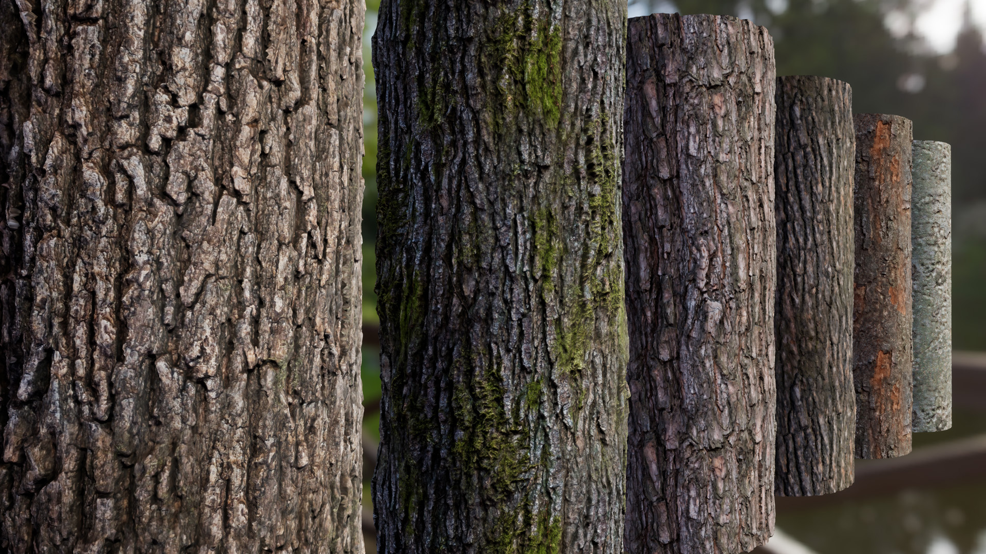Tree Bark Materials By Nabi163 In Materials Ue4 Marketplace