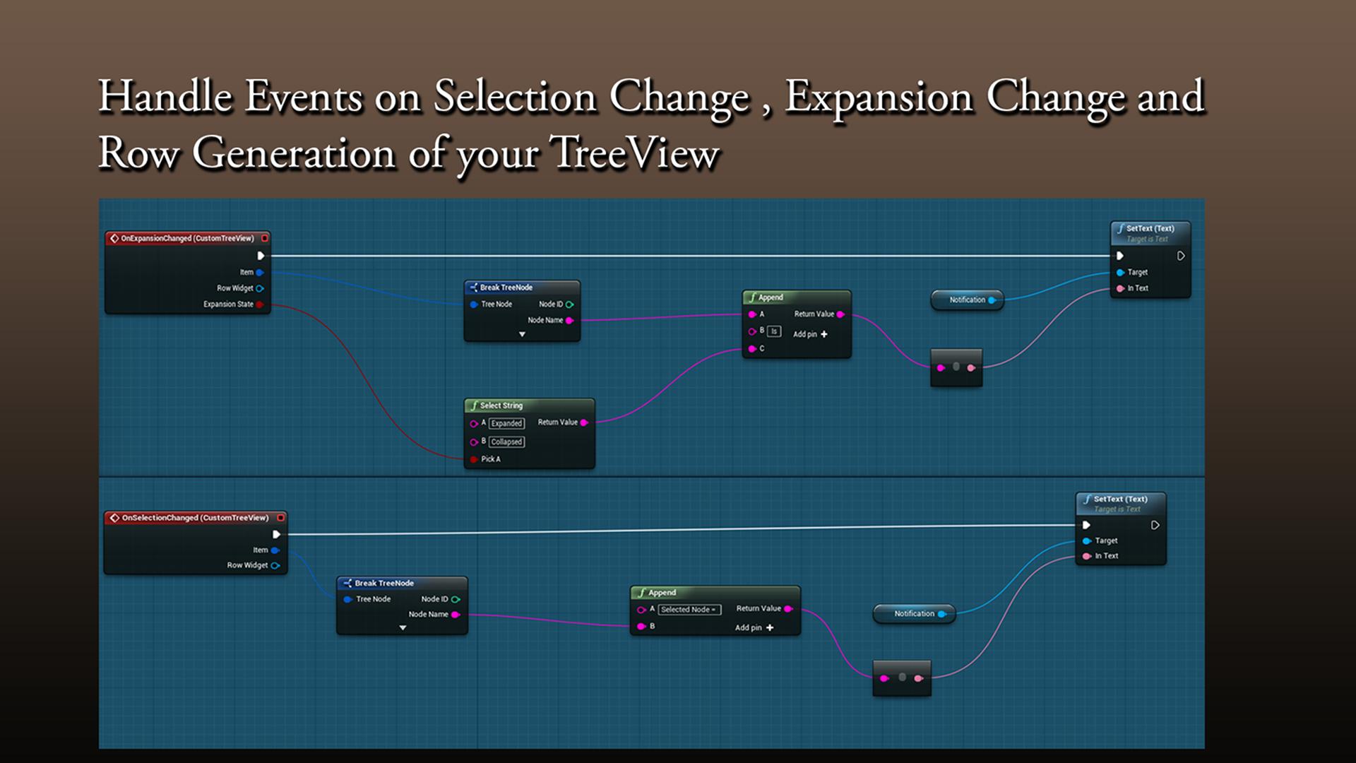 TreeView for UMG by Sameek Kundu in Code Plugins - UE4
