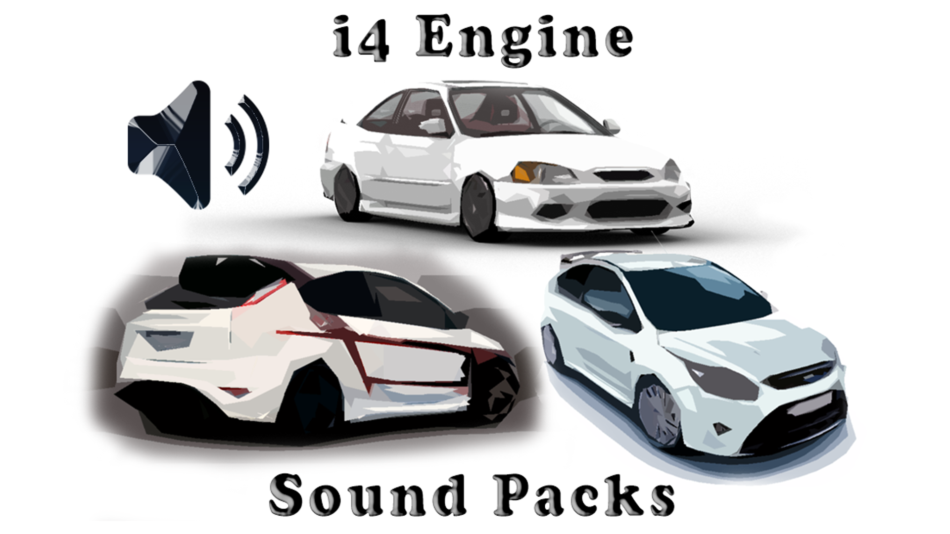 i4 Engine Sound Packs by slaczky - Skril Studio in Sound Effects