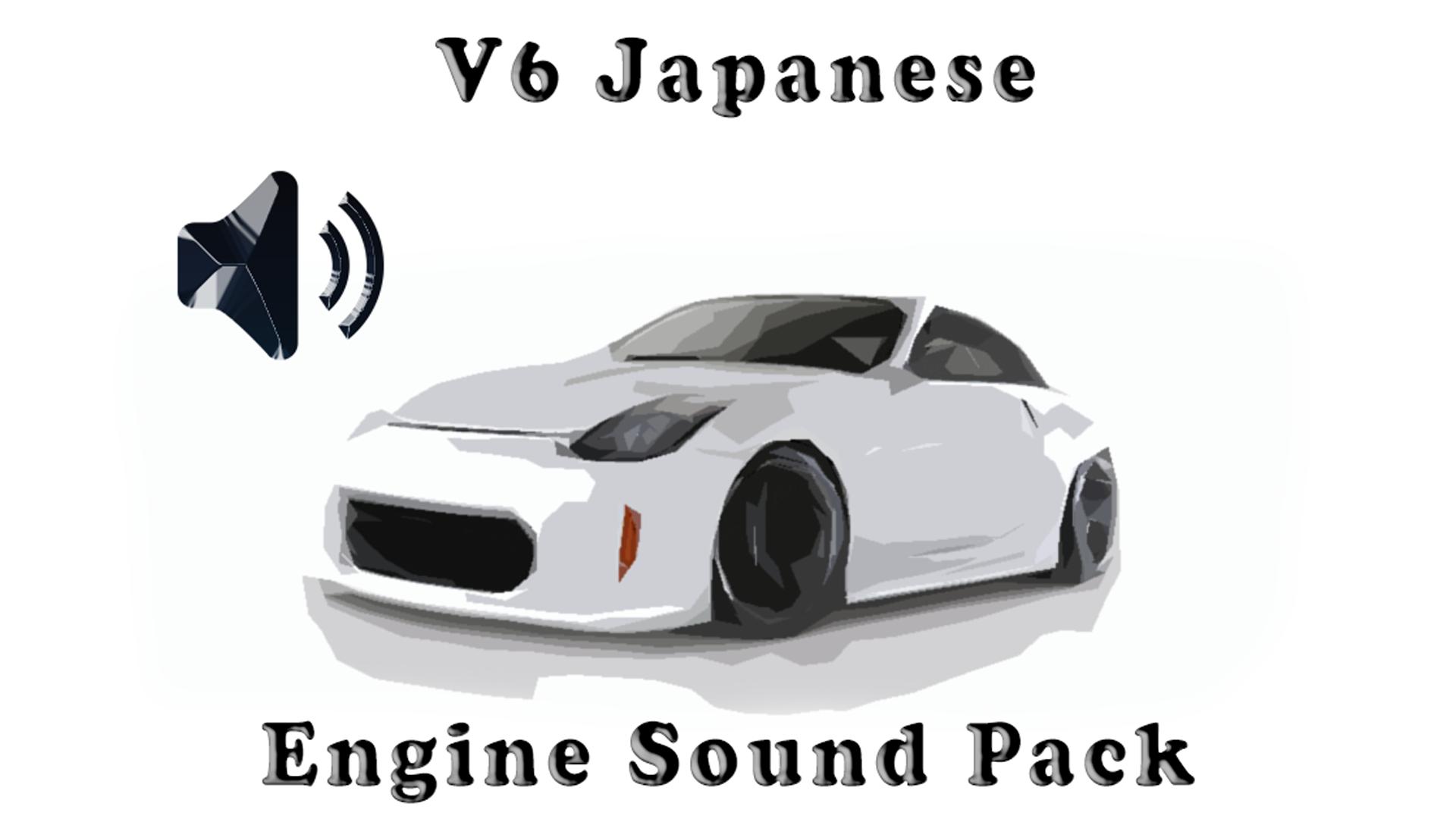 V6 Japanese Engine Sound Packs by Yugel Mobile - Skril Studio in