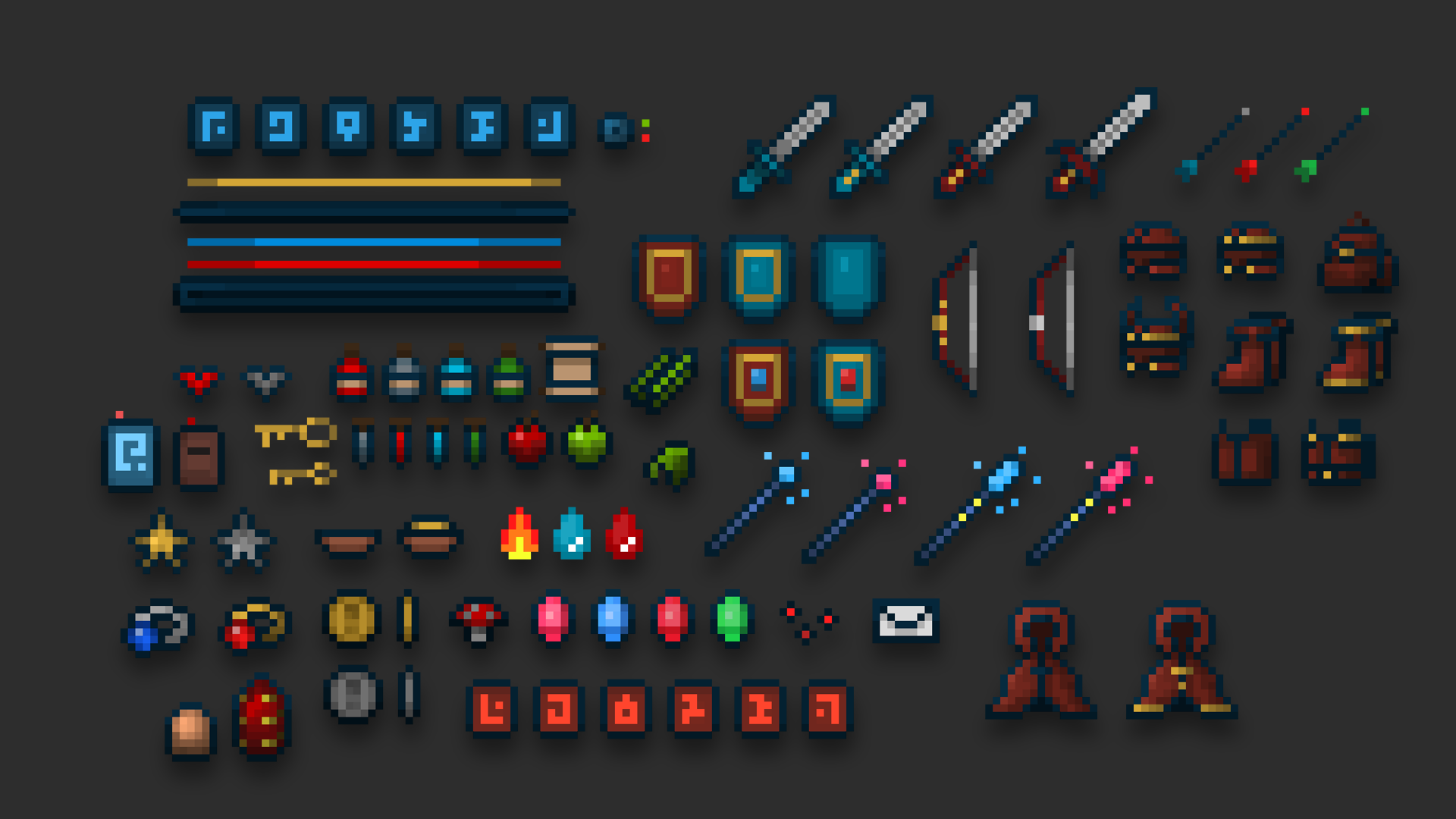 Pixel Art Pack by Wiiolis in 2D Assets - UE4 Marketplace