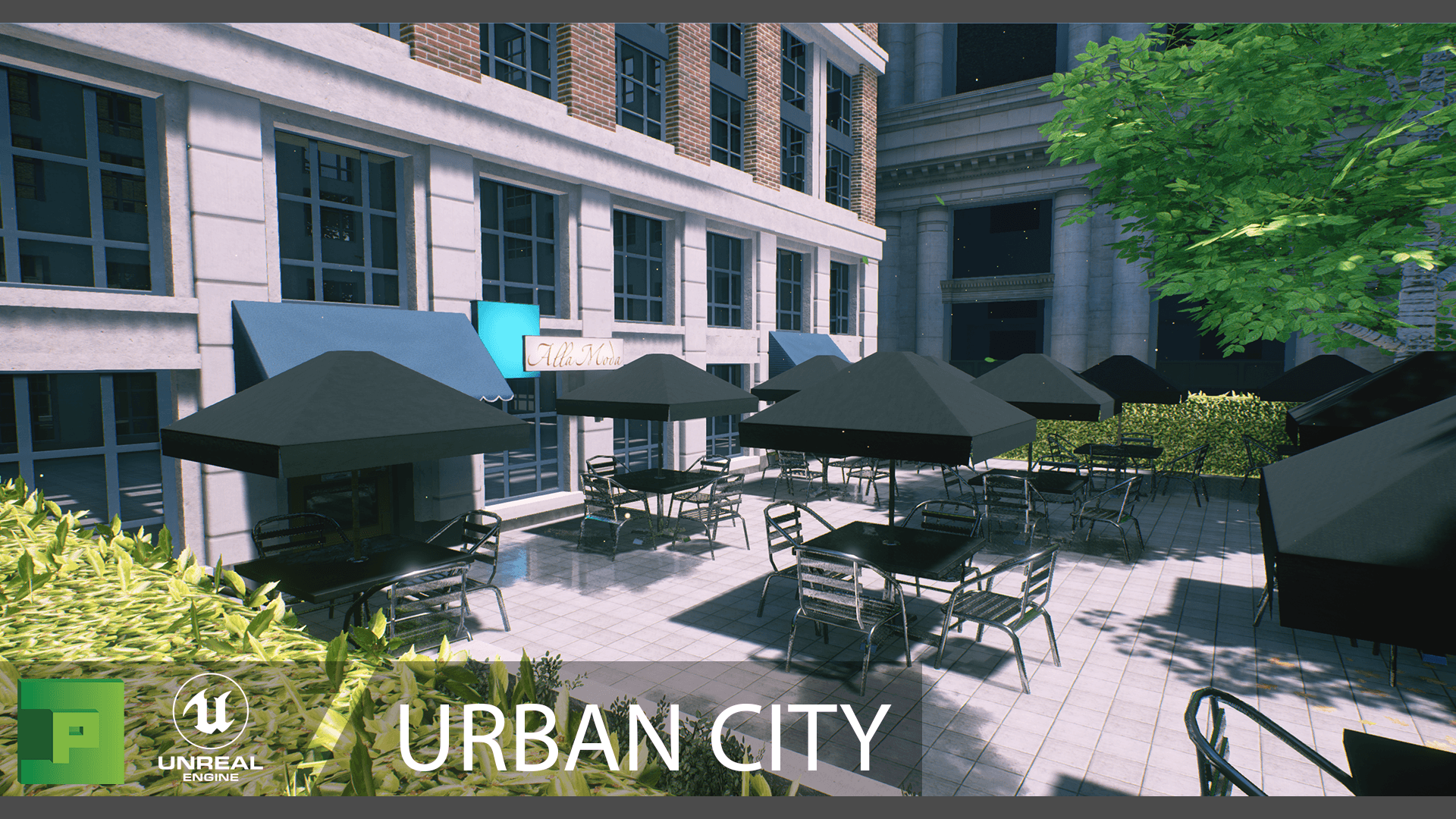 Urban City by PolyPixel in Environments - UE4 Marketplace