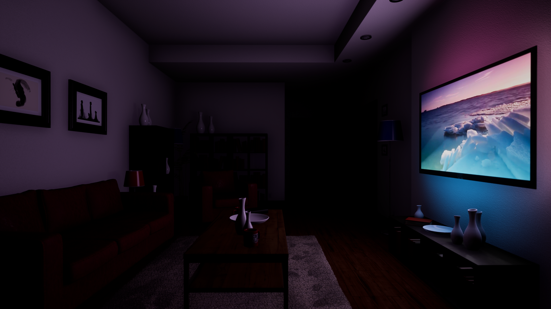 Video Ambient Lighting By Pedramnavin