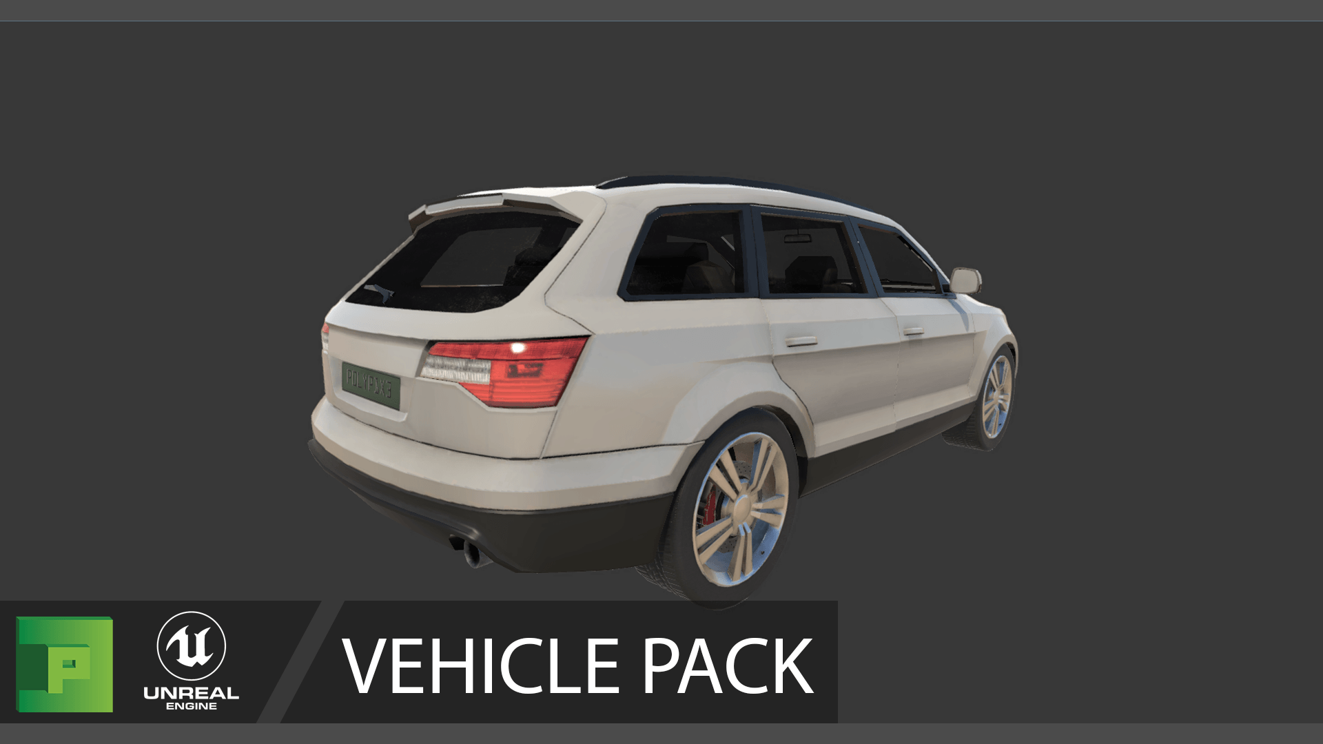 Vehicle Pack Vol 1 by PolyPixel in Props - UE4 Marketplace