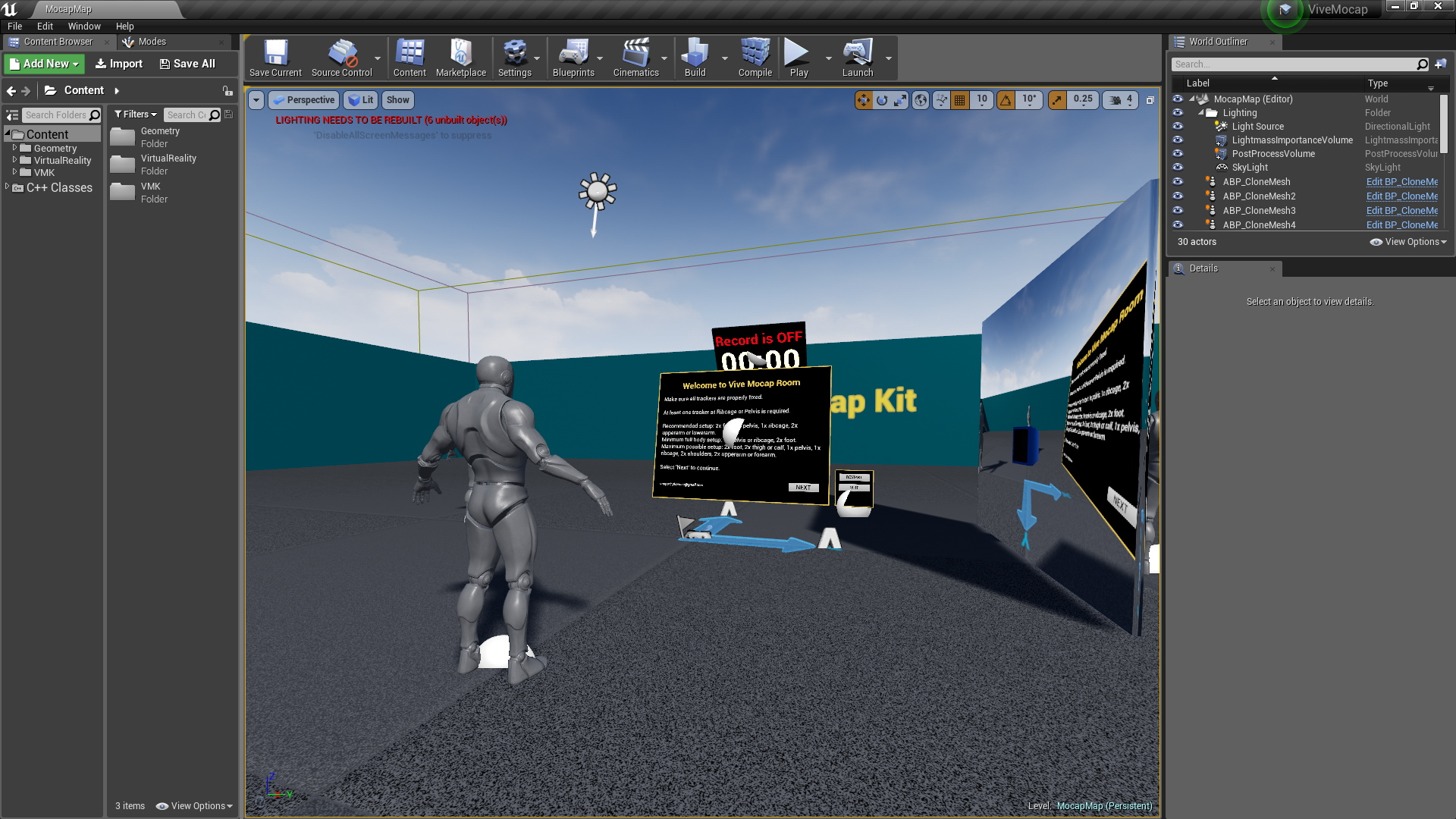 Vive Mocap Kit by Yuri N Kalinin in Code Plugins - UE4