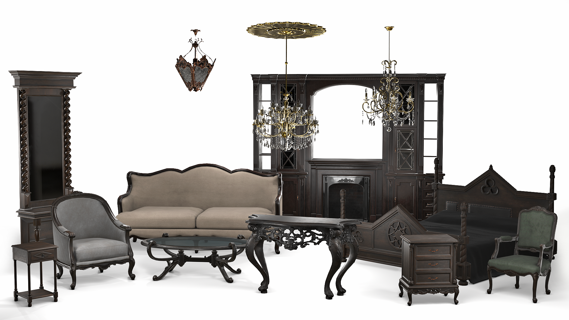 Classic Furniture Collection Hq By K S Inc In Props Ue4 Marketplace