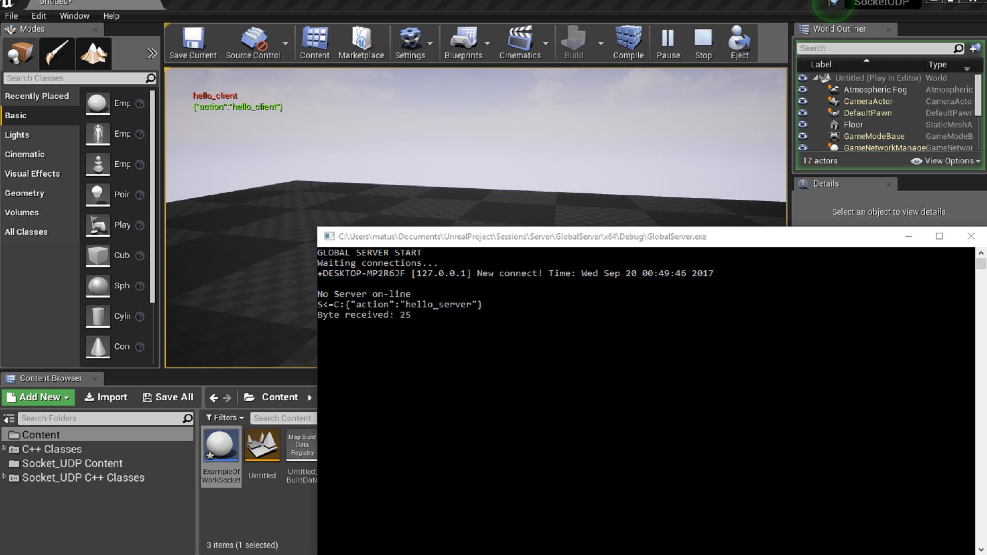 UDP Socket Plugin by NODARYN in Code Plugins - UE4 Marketplace