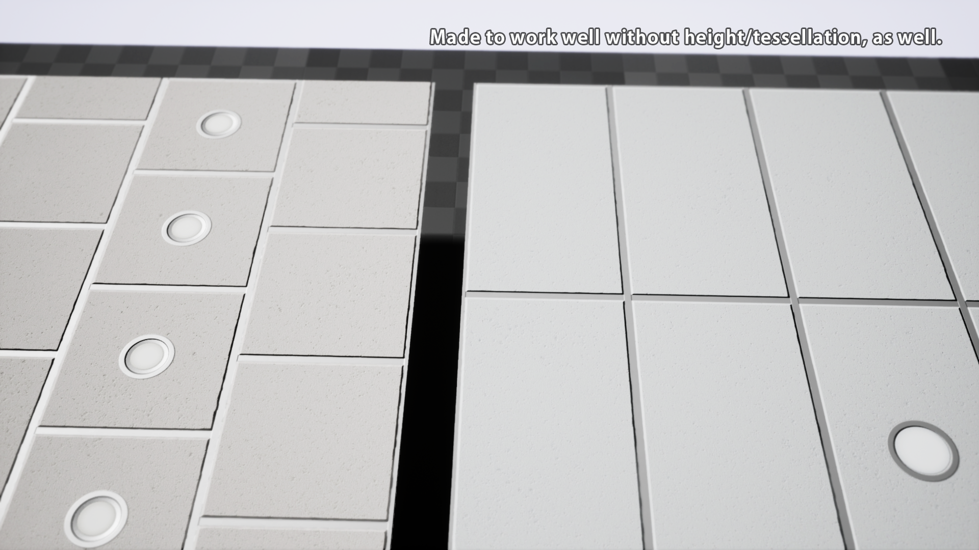 Office Ceiling Tiles By Dc Assets In Materials Ue4 Marketplace