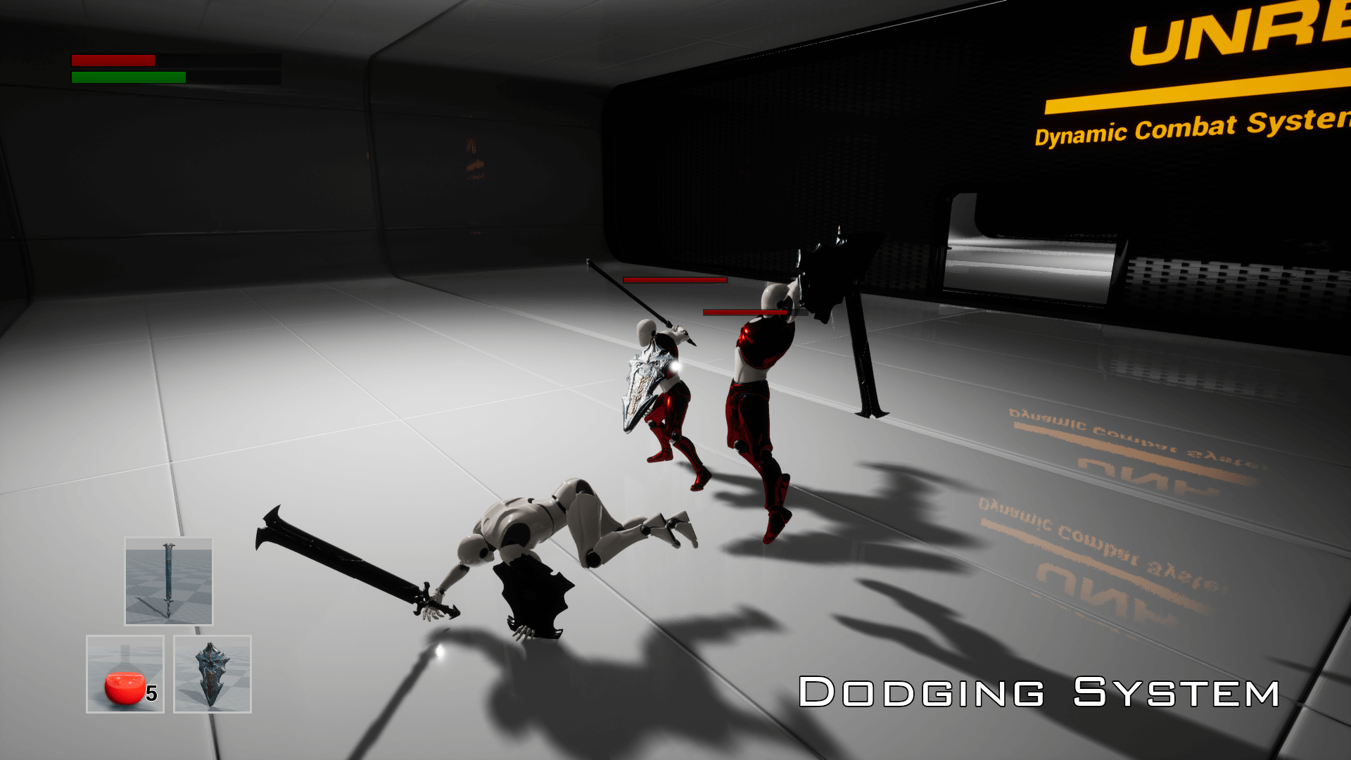 UnrealEngine Dynamic Combat System - Magic
