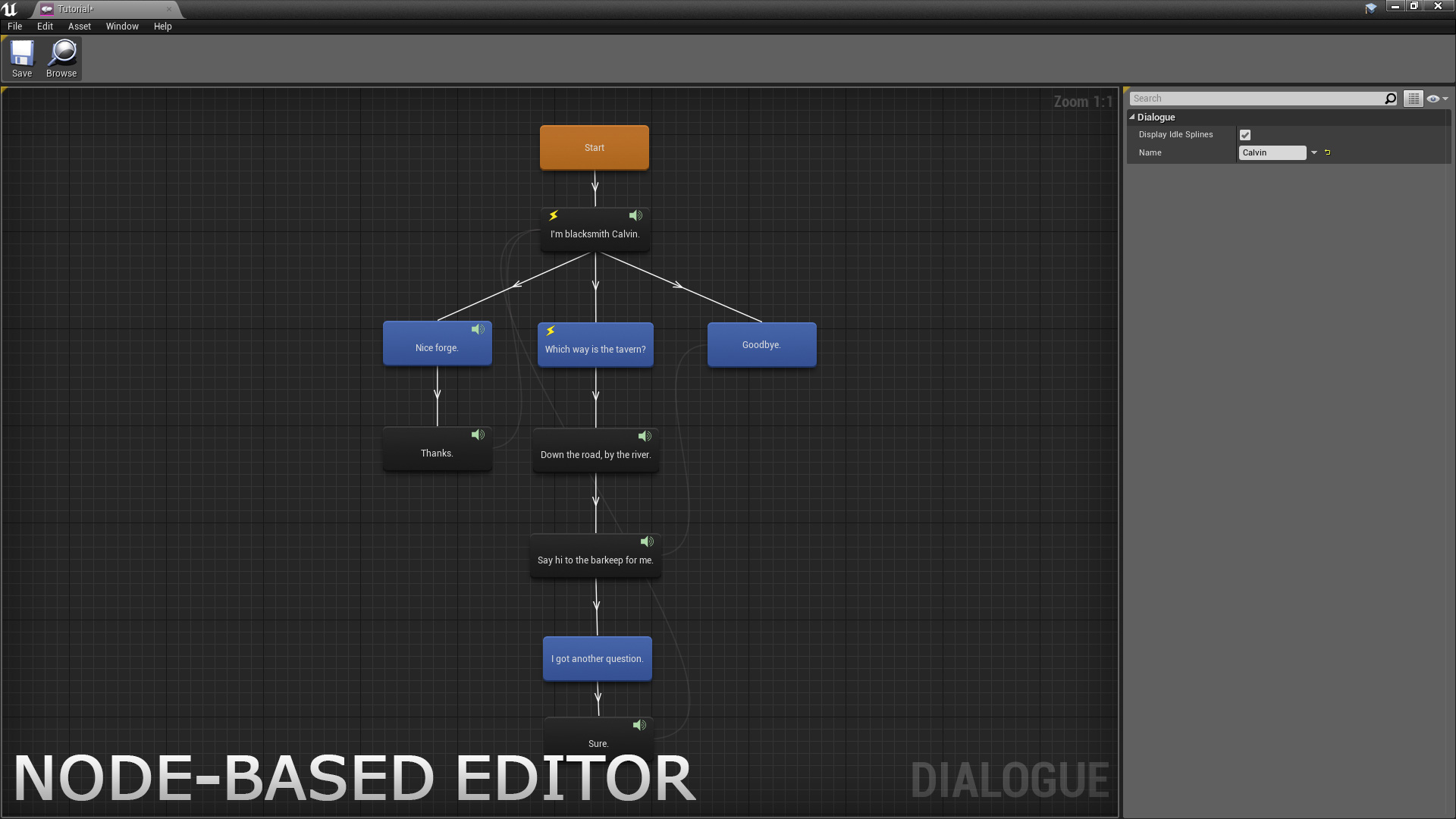 Dialogue Plugin by CodeSpartan in Code Plugins - UE4 Marketplace