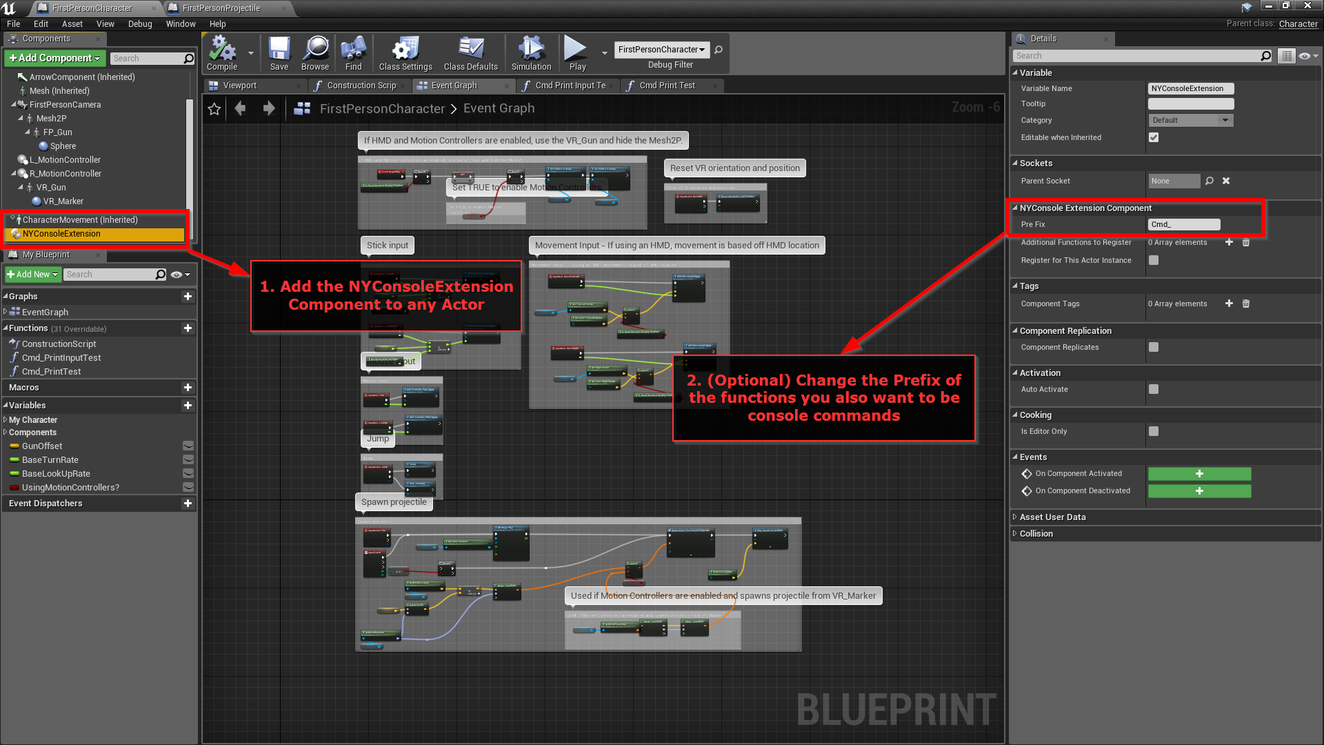 Not Yet Console Extension by Not Yet in Code Plugins - UE4