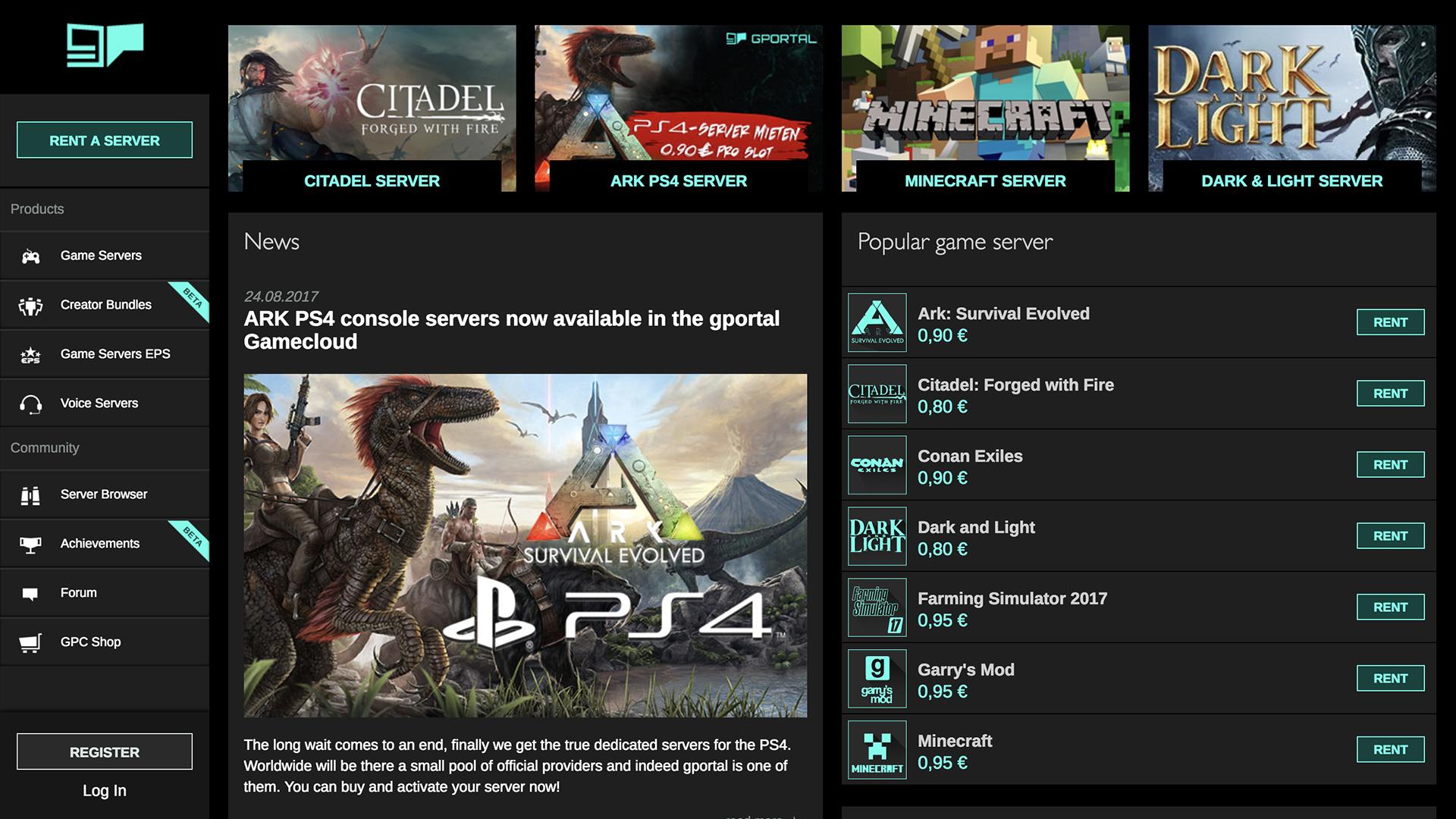 Conan exiles dedicated server options g
