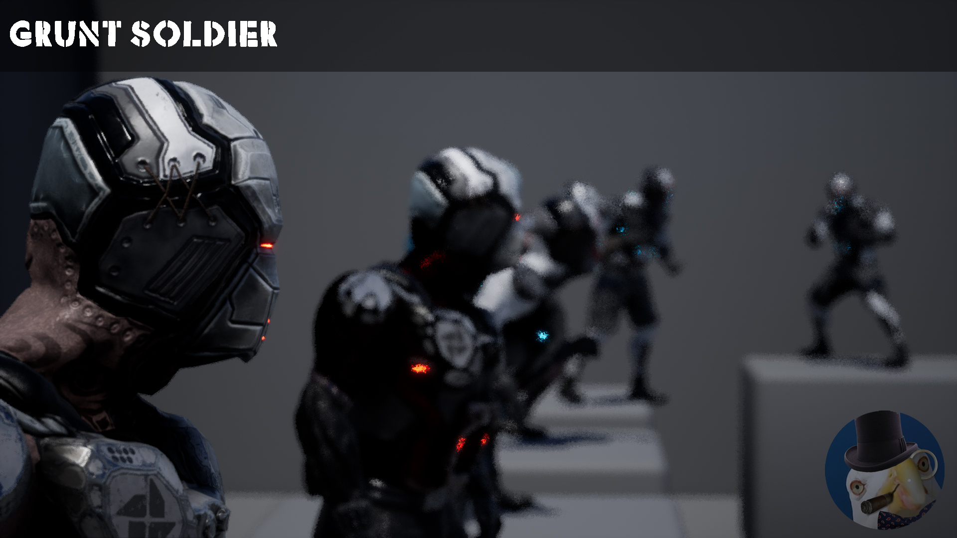 Grunt Soldier by Dspazio in Characters - UE4 Marketplace