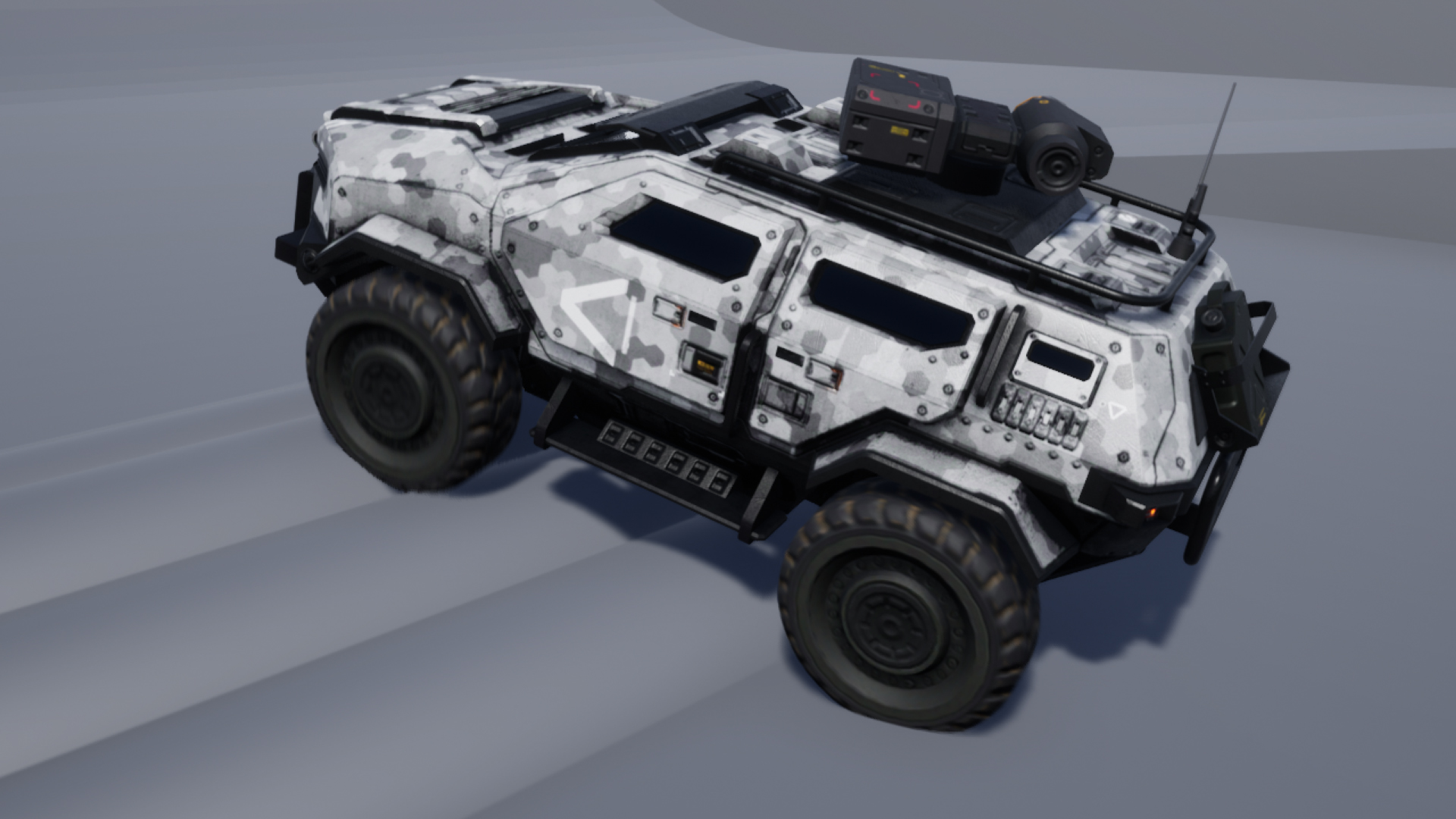 Scifi Military Car In Props Ue Marketplace