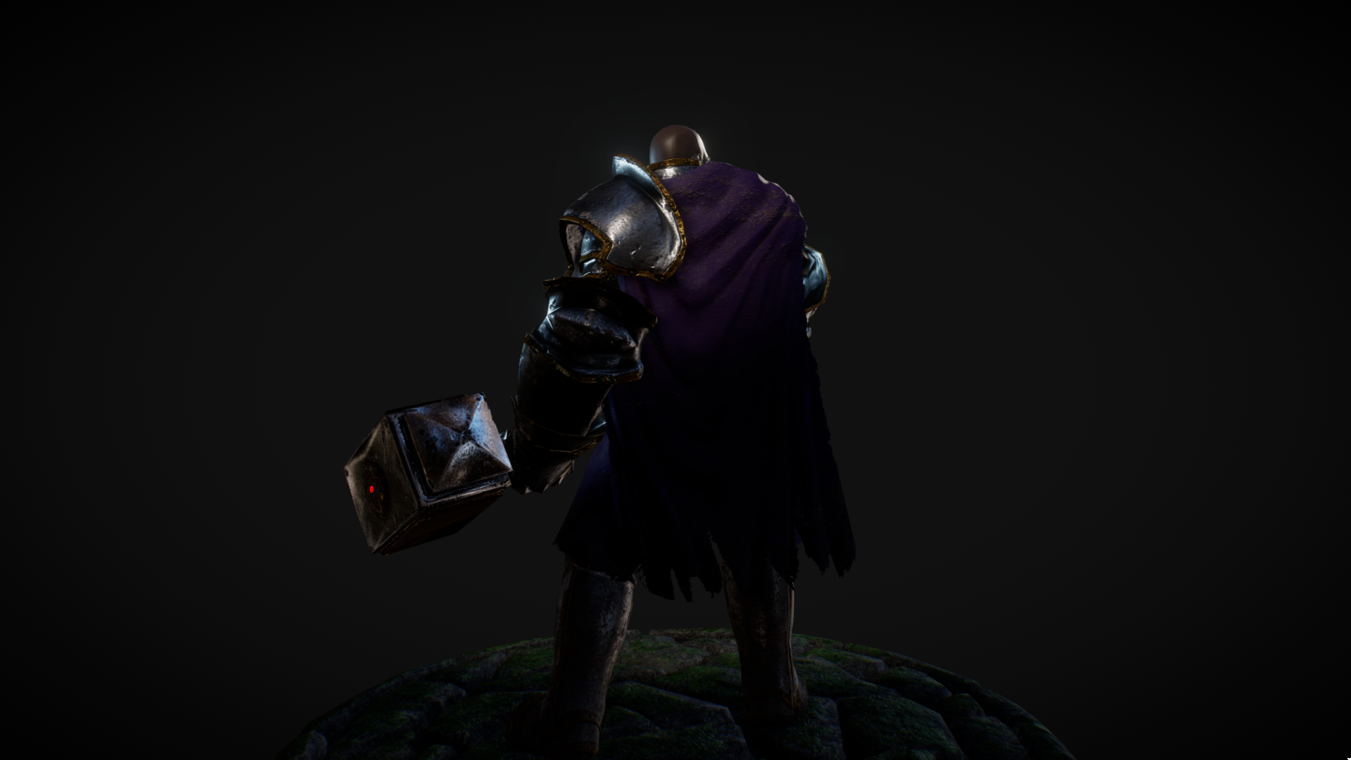Stylized Paladin Character by MGGeymonat in Characters - UE4 Marketplace