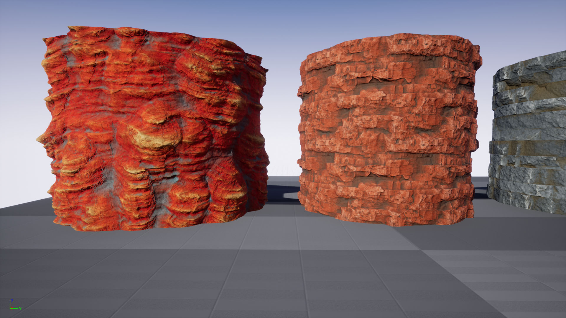 RockFace Substance Pack by Peter Severud in Materials - UE4 Marketplace
