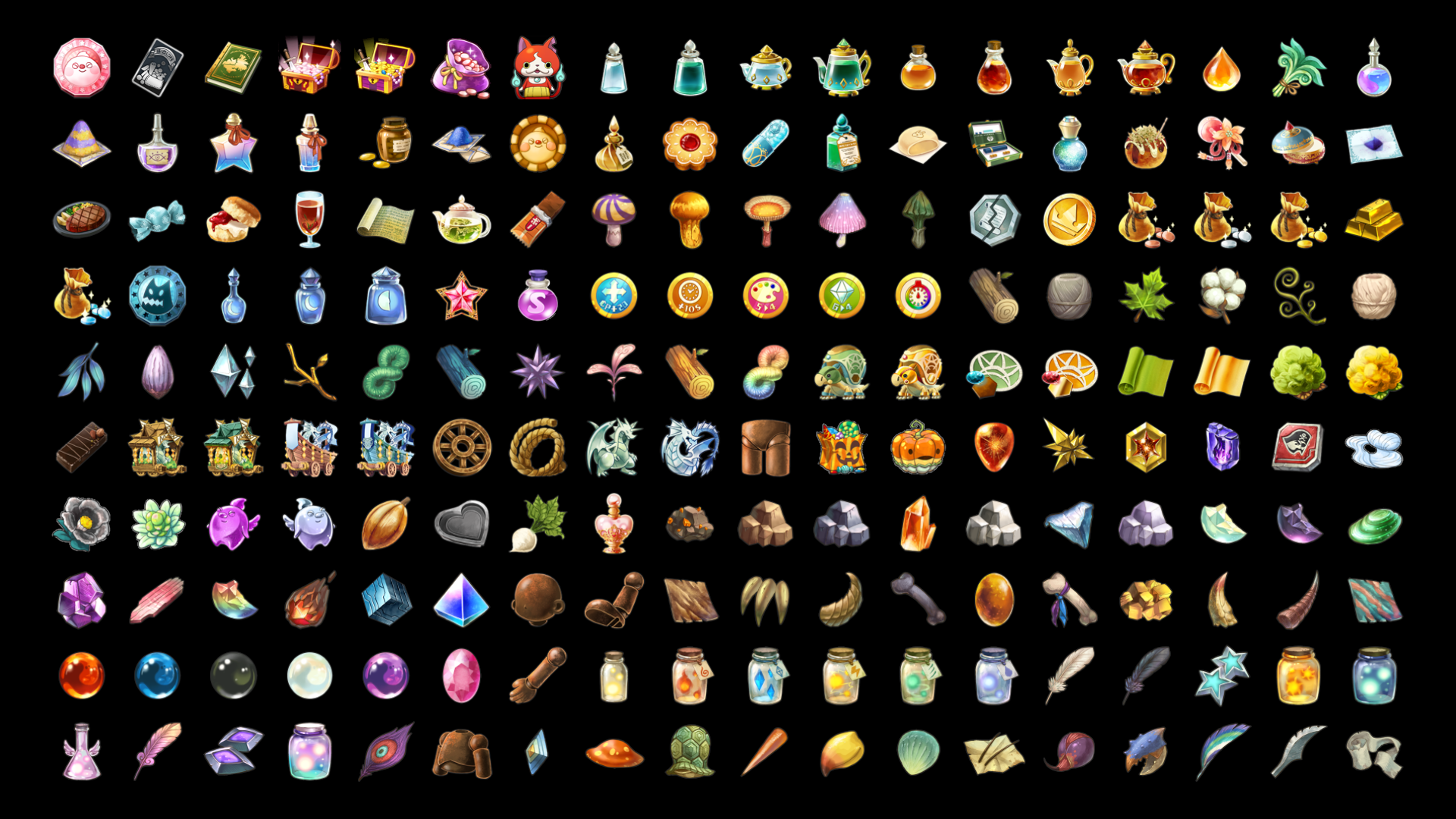 1690+ RPG Icons by CompassStudio in 2D Assets - UE4 Marketplace