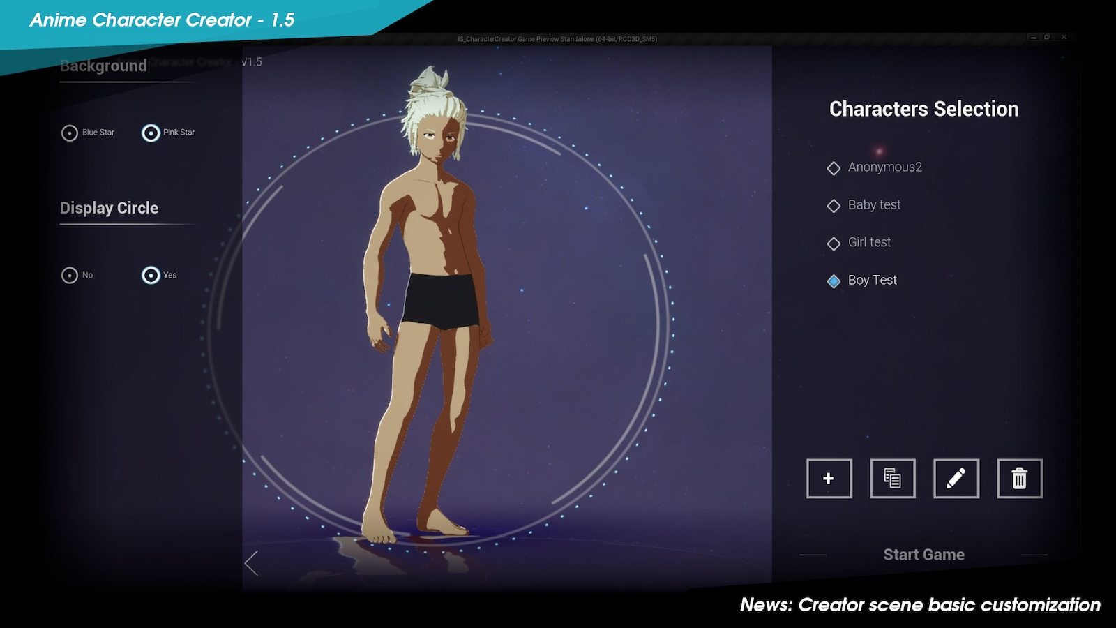 Anime Avatar Creator Games