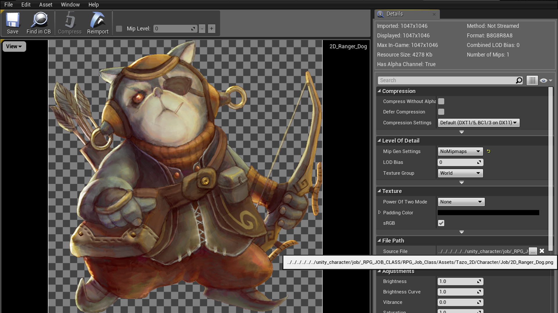 RPG Job Class Character Icon (Animal) by Mr Game in 2D Assets - UE4