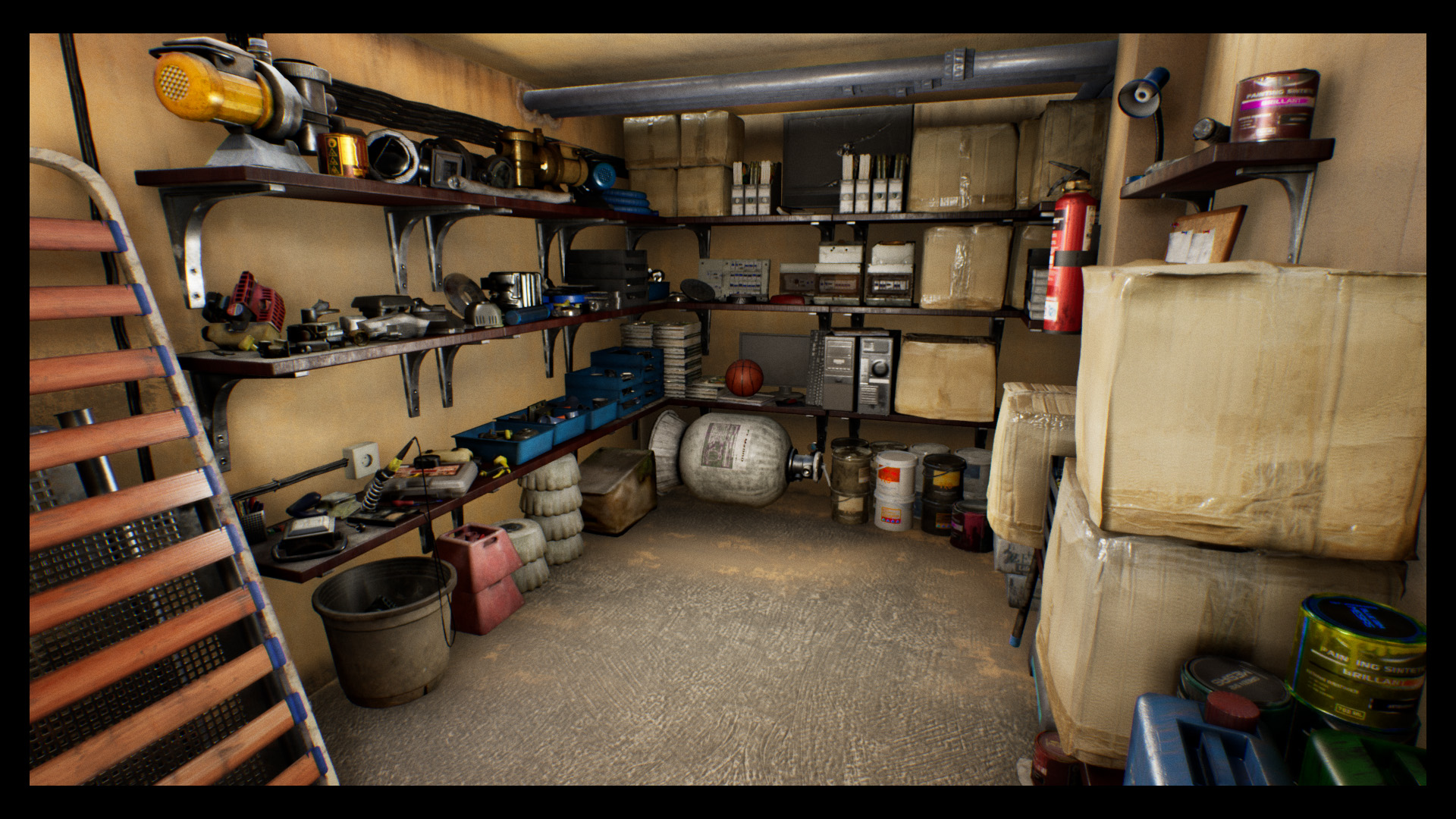 Storage Room By Studiodevis3d In Props Ue4 Marketplace