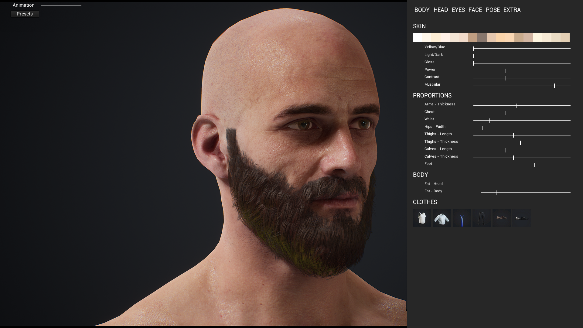 Character Customization: Male by CodeSpartan in Blueprints