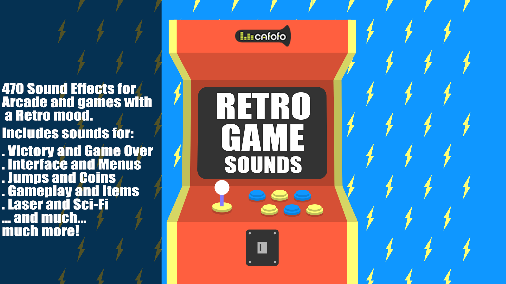 Retro Game Sounds by Cafofo Music in Sound Effects - UE4 Marketplace