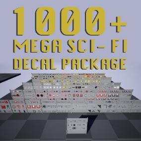 1000+ Mega Decal Package