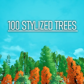 100 Trees is a highly customizable and optimized pack that contains 100 trees of 6 varieties.