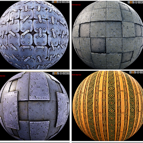 19 Stylized PBR Materials