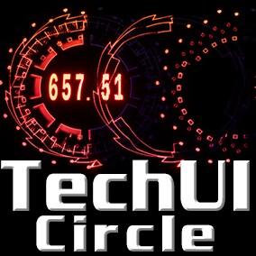 20+  UI circle motion materials.