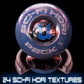 24 hand crafted sci-fi HDRI textures featuring space, nebula, orbits, interiors and more.