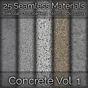 25 Concrete Seamless Materials