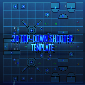 2D Top Down Shooter is the two-dimensional action-arcade experience template to make shooter development for the iOS and PC flash games much easier. Entirely made in Blueprint, setup and ready on the go for gameplay and instant action.