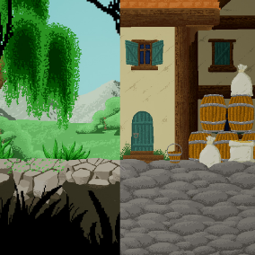 Forest and Medieval Sprites for 2D Games