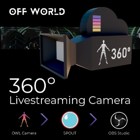 A free, ultra-easy-to-use, 360 degree, WYSIWYG, DX12 (ray-tracing) compatible, livestreaming virtual camera that outputs zero-latency, real-time video feeds to OBS/ SPOUT (without the computational overhead & latency of capture cards/NDI)