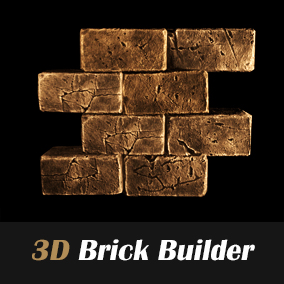 Customizable brick for Unreal Engine 4.