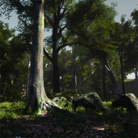 STF-3D Forest Pack Vol. 1 - A Pack of 3D-Scanned, Photogrammetric Assets